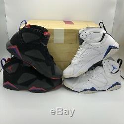 09 Nike Air Jordan VII 7 Retro Dmp Orlando Magic Toronto Raptors 371496-991 9.5