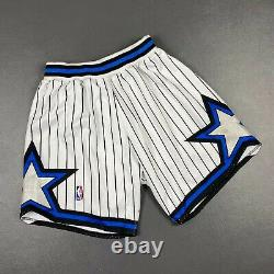100% Authentic 92 93 Orlando Magic Mitchell & Ness Shorts Size L 44 Mens penny
