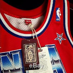 100% Authentic Magic Johnson Mitchell & Ness 1991 All Star Jersey Mens Size 40 M