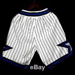 100% Authentic Mitchell Ness Orlando Magic Shorts Mens Size L Large 44 penny