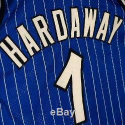 100% Authentic Penny Hardaway Champion Orlando Magic Jersey Mens Size 48 XL L