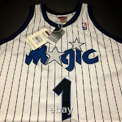 100% Authentic Penny Hardaway Mitchell Ness 93 94 Magic Jersey Size 52 2XL Mens