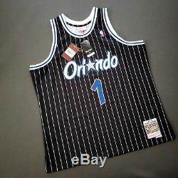 100% Authentic Penny Hardaway Mitchell Ness 94 95 Magic Jersey Size 2XL 52 Mens