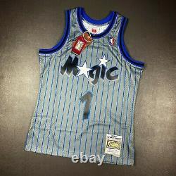 100% Authentic Penny Hardaway Mitchell Ness 94 95 Magic Swingman Jersey Size M