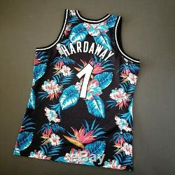 100% Authentic Penny Hardaway Mitchell Ness Floral Magic Jersey Size XL 48 Mens