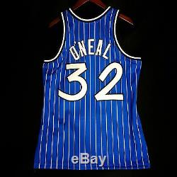 100% Authentic Shaquille O'Neal Mitchell & Ness 94 95 Magic Jersey Size 40 M