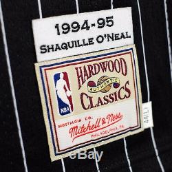 100% Authentic Shaquille O'Neal Mitchell Ness 94 95 Magic Jersey Size 44 L Mens