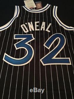 100% Authentic Shaquille O'Neal Mitchell Ness 94-95 Magic Jersey Size 44 L New