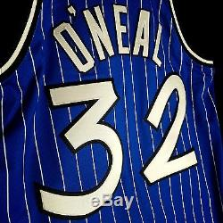 100% Authentic Shaquille O'Neal Mitchell Ness Magic Jersey Size 44 L penny