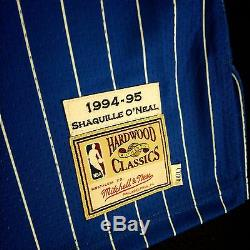 100% Authentic Shaquille O'Neal Mitchell Ness Magic Jersey Size 48 XL penny