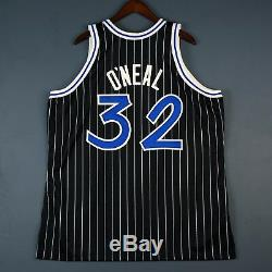 100% Authentic Shaquille Shaq O'Neal Oneal Mitchell Ness Magic Jersey Size 52