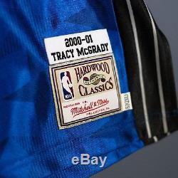 100% Authentic Tracy Mcgrady Mitchell Ness Orlando Magic Jersey Size Mens 52 2XL