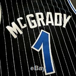100% Authentic Tracy Mcgrady Reebok Magic HWC Jersey Size 56 3XL Mens