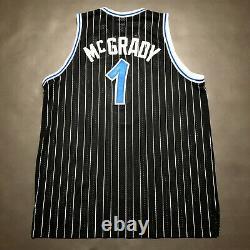 100% Authentic Tracy Mcgrady Reebok Magic HWC Night Jersey Size 52 2XL Mens