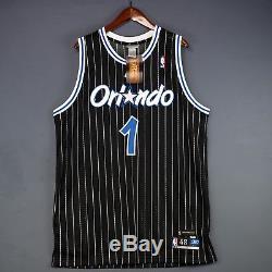 100% Authentic Tracy Mcgrady Tmac Reebok Magic HWC NBA Jersey Mens Size 48 XL