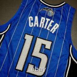 100% Authentic Vince Carter Adidas Magic Jersey Size L 44 Mens mesh # pro cut
