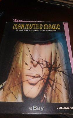 1970 MAN, MYTH & MAGIC An ILLUSTRATED ENCYCLOPEDIA Set-24 Volumes-Good Condition