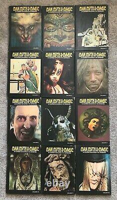 1970 MAN, MYTH+MAGIC-Illustrated Encyclopedia-All 24 HB Vols Occult-Supernatural