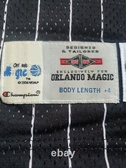 1995-96 Shaquille O'Neal Orlando Magic Champion Pro Cut Game Jersey