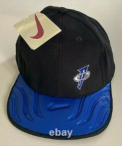 1997 Nike Air Foamposite One Royal Penny 1 Cap Hat Og Ds Vtg Nba Orlando Magic