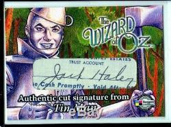 2006 Breygent Wizard Of Oz Jack Haley Tin Man Died June 6 1979 Autograph Auto