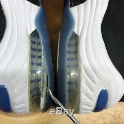 2008 Nike Air Max PENNY II 2 BLACK ROYAL ATLANTIC BLUE WHITE 333886-041 10 Magic