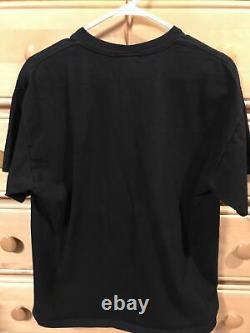 2008 The Dark Knight The Joker T Shirt Size L Magic Trick Black Heath Ledger