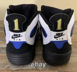 2011 Nike Air Flight One NRG Orlando Magic PENNY HARDAWAY 520502-110 Sz 13 RETRO