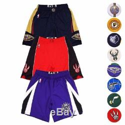 2016-17 NBA Adidas Authentic On-Court Climalite Performance Team Shorts Men's