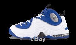 2016 Nike Air Penny II 2 Orlando Magic SZ 10.5 Atlantic Blue White 333886-400