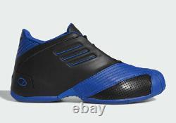 2019 Adidas T-Mac 1 Black Blue Size 11. EE6843 Tracy McGrady Orlando Magic
