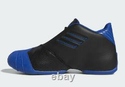 2019 Adidas T-Mac 1 Black Blue Size 13. EE6843 Tracy McGrady Orlando Magic