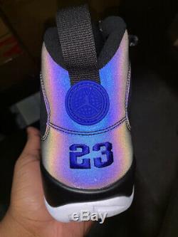 2020 Nike Air Jordan 9 Retro Black White Racer Blue Magic OG CT8019-024 NEW