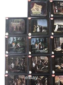 40 Antique Magic Lantern Slide Complete Story The Other Wise Man Color Religious