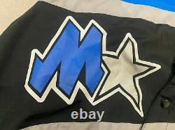 90s Champion Vintage Orlando Magic NBA Warm Up Jacket Snap Button Medium