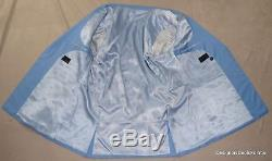ALBA Bespoke Suit Mens 48 XL Blue DB Magic Johnson Hand Tailored 42W 5/4/16