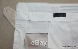 ALBA Suit Mens 46 XL Beige Poplin Cotton Double Breasted Magic Johnson 4/27/2015