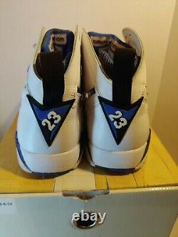 Air Jordan 7 Retro Defining Moments Orlando Magic Sz 8.5 Worn Once