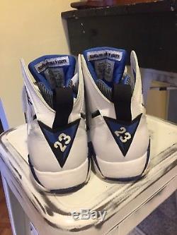 Air Jordan 7 VII Orlando Magic 2009 Retro Mens sz 11 Basketball Shoes Sneakers