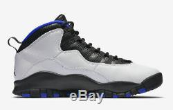Air Jordan Retro 10 Mens X 310805-108 Royal Orlando Magic Og Concord Size 14