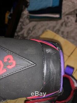 Air Jordan Retro 7 DMP Pack 2009 Raptor Orlando Magic Bred Concord Size 10.5