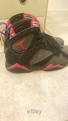 Air Jordan Retro 7 VII DMP Pack Raptor/Orlando Magic 371496-991 Size 9