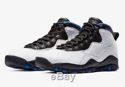 Air Jordan X 10 Retro # 310805 108 Orlando Magic Men SZ 7.5 14