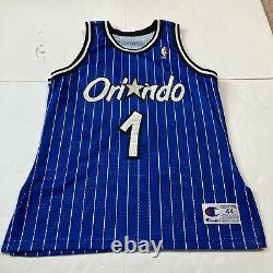 Anfernee Hardaway Orlando Magic Champion Authentic Jersey 44 Pinstripe Penny