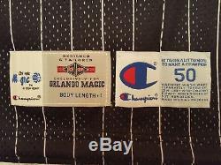 Anfernee Penny Hardaway Orlando Magic Pro Cut Game Issued jersey UDA auto 95/96