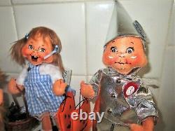 Annalee 2019 Wizard Of Oz Dorothy/toto, Tin Man, Lion, Scarecrow Brand New