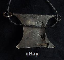 Antique 19. Century Morocco african Tuareg man's magic talisman turban jewelry