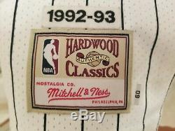 Authentic Hardwood Classics Shaquille O'Neal White Magic Throwback Jersey Sz. 60