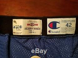 Authentic Nba Game Worn Orlando Magic Basketball Shorts Bundle Penny Shaq 1994