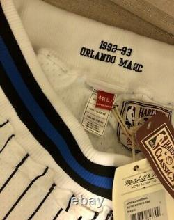 Authentic Orlando Magic Mitchell & Ness NBA Men's Basketball Shorts White
